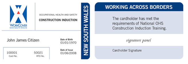 White card and how it works for tradies.