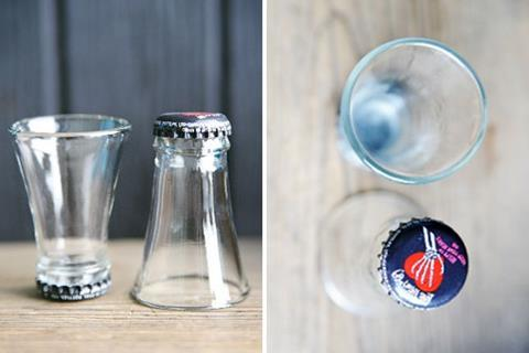 ConX Tips & Tricks for the tradie: Turn that bottle into a shotglass.