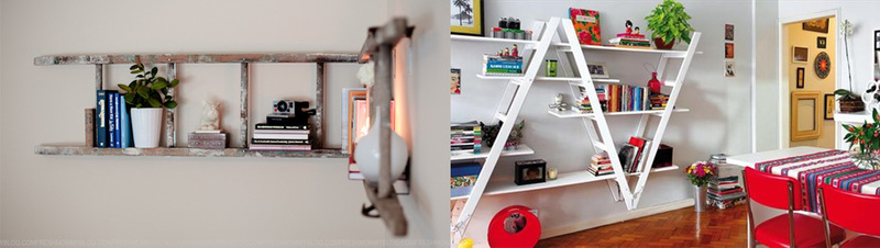 ConX Tips & Tricks for the tradie: Turn a ladder into a creative Christmas accessory.