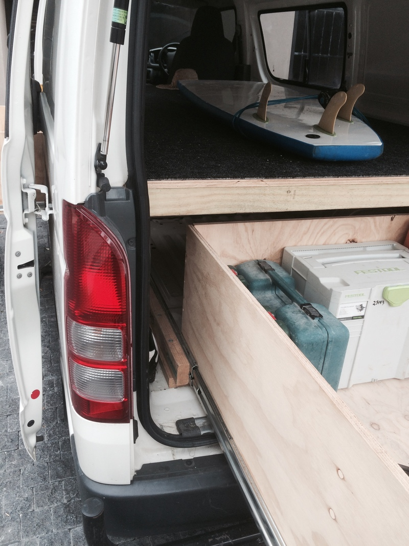 ConX Tips & Tricks for the tradie: Upsize your van space and turn a regular van into a tradie van.